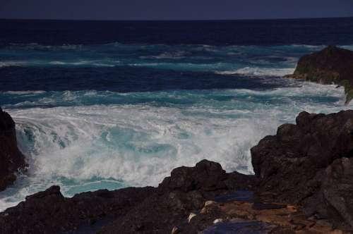 Water Sea Surf Color Mood Spray Coast Wave