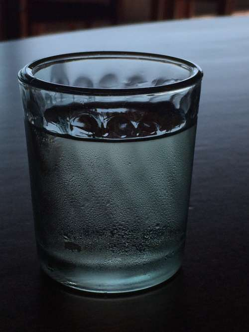 Water Cup Glass Soft Drink