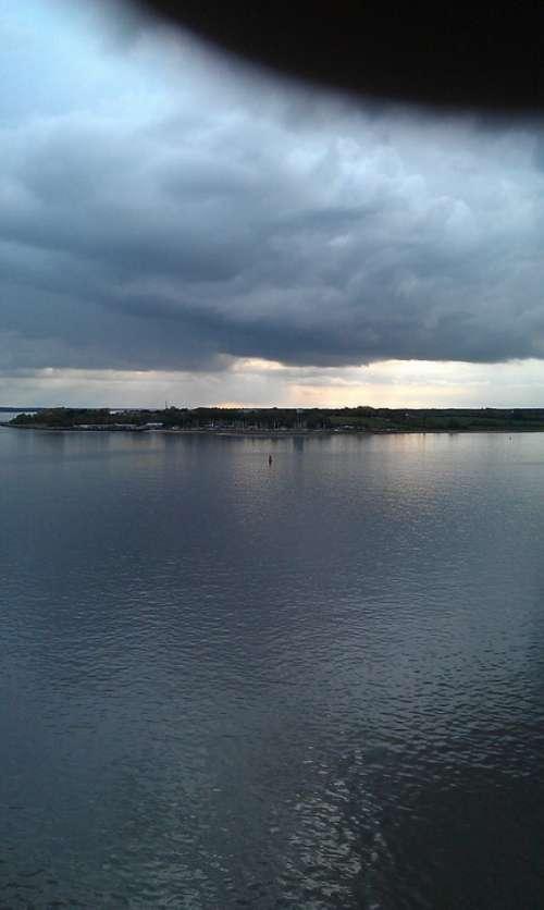 Water Sky Sea Landscape Coast Color Clouds