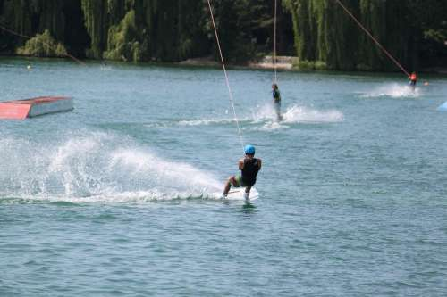 Water Sport Water Sports Wakeboard Leisure Sea