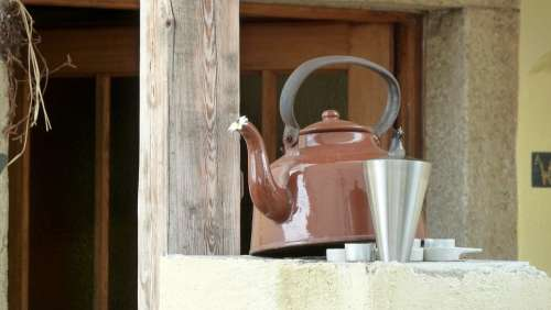 Water Boiler Pot Candle Atmospheric Kettle