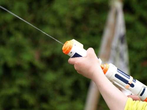 Water Gun Spray Gun Toys Colorful Play