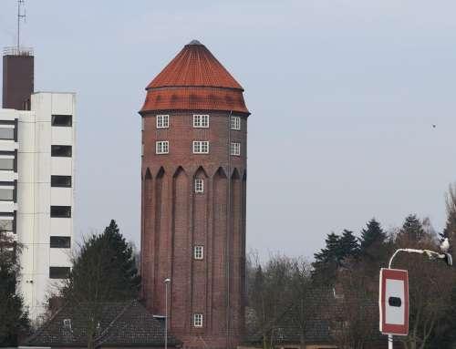 Water Tower Brunsbüttel 1911 Building