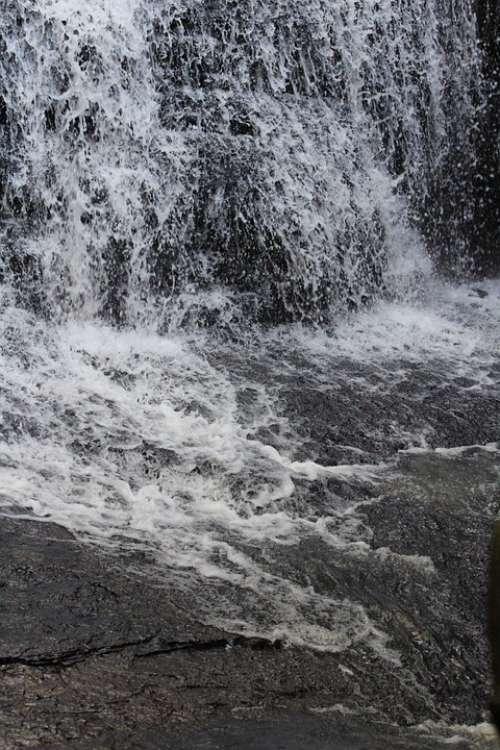 Waterfall Water Nature Petar Landscape Stone Rio