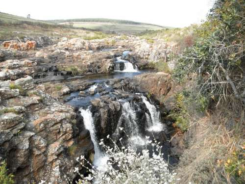 Waterfall South Africa Tourist Attraction