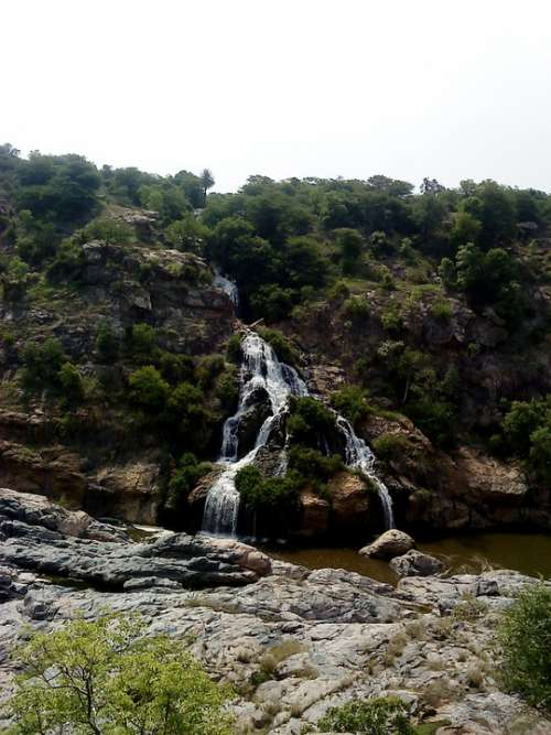 Waterfall Nature Wat Water Landscape River