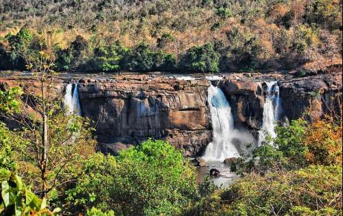 Waterfall Athirappilly Athirappilly Panchayath