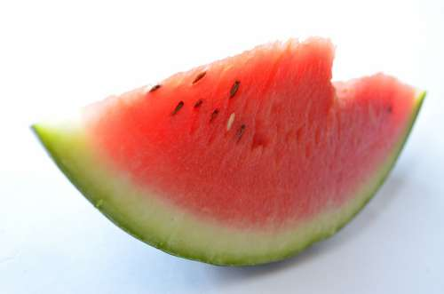 Watermelon Seeds Melon Cut Fruits Sliced Red
