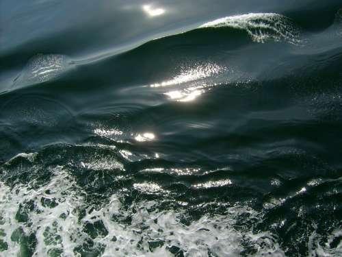 Wave Sea Water Ship