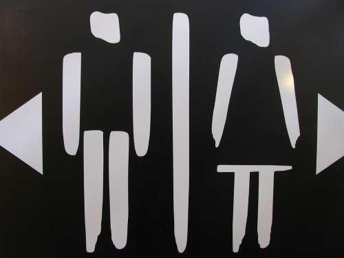 Wc Loo Toilet Man Woman Women Men Village