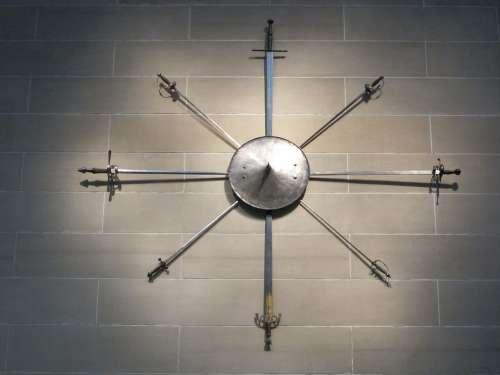 Weapons Sword Medieval Combat Shield Museum