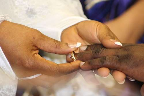 Wedding Marriage Love Husband Wife Groom Bride