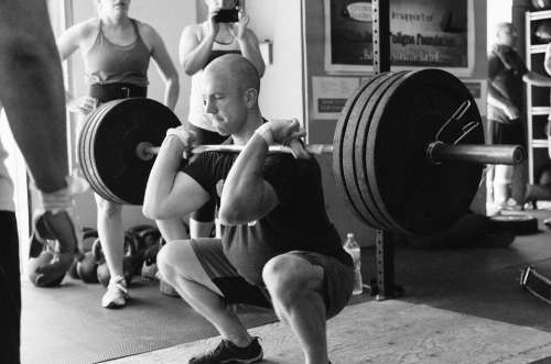 Weightlifting Weight Power Man Sports Heavy