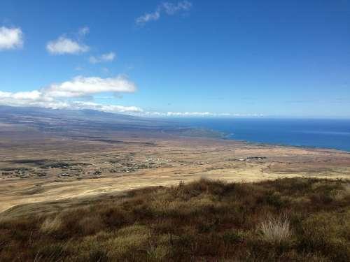 West Hawaii Coastline Hawaii Island Ocean Island