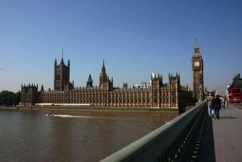 Westminster Brige English Parliament