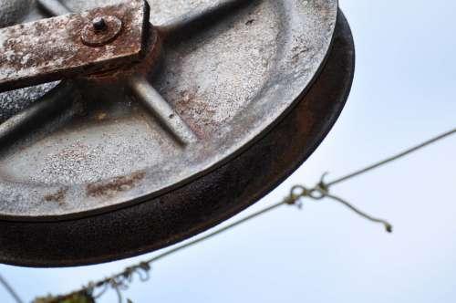 Wheel Metal Rust Old Iron Rusted Rusty