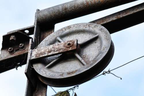 Wheel Alloy Wheel Metal Rust Old Iron Rusted