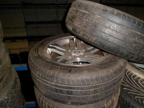 Wheels Tyre Car Alloy 300C Used