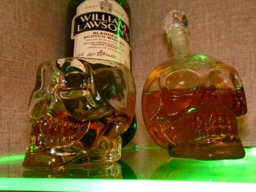 Whisky Whiskey Drink Bottle Alcohol Glass Cup