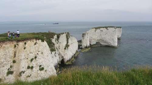 White Cliffs Seaside Ocean Nature Beach Sea Coast