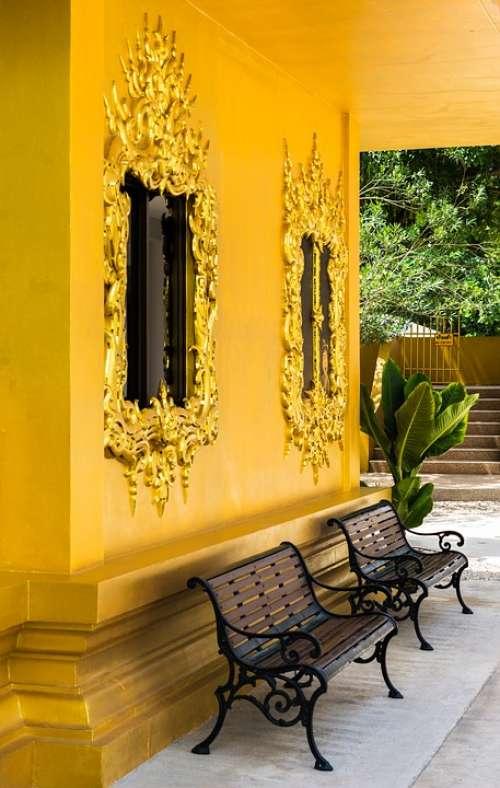 White Temple Chiang Rai Thailand Asia