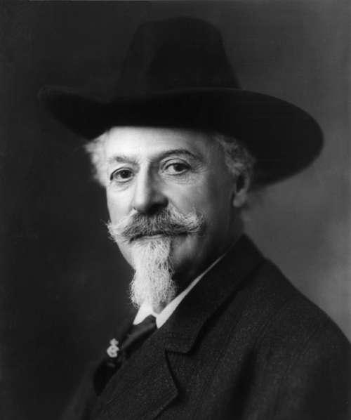 William Cody Western Cowboy Performer Buffalo Bill