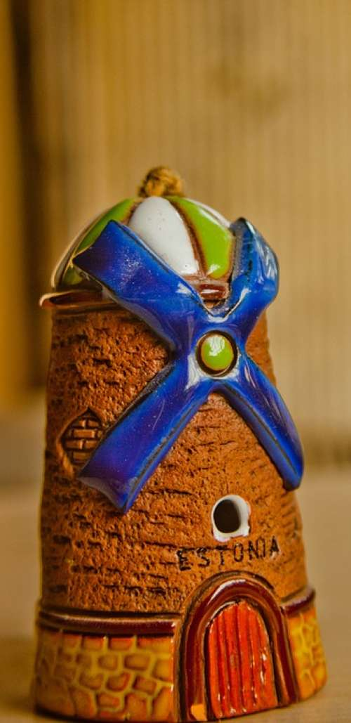 Windmill Toy Ceramics Wind
