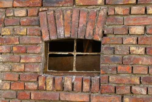 Window Brick Old House Architecture Break Up
