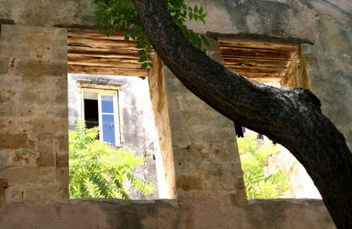 Window Opening Facade