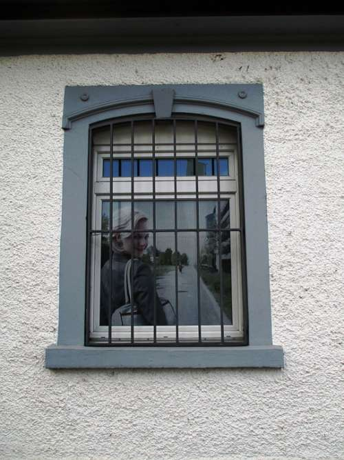 Window Blinds Roller Shutter Hauptwil Motif Woman