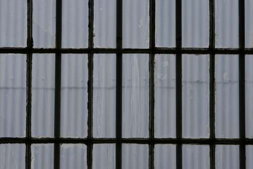 Window Glass Panes Frame Rectangles Rows