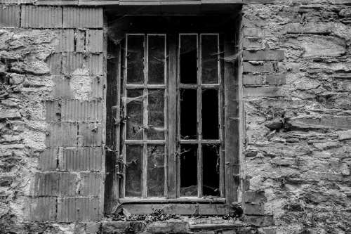 Window Abandoned Brittle Ruin Decay Dilapidated