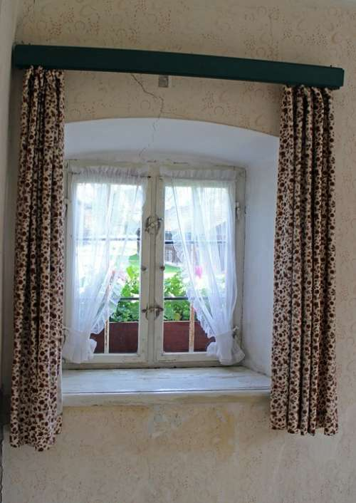 Window Wood Wooden Windows Window Sill Antique Old