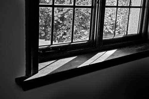 Window Glass Tables Hole Light Shadows Shadow