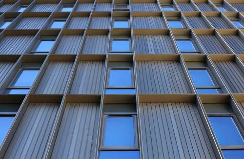 Windows Glass Architecture Building Modern Facade
