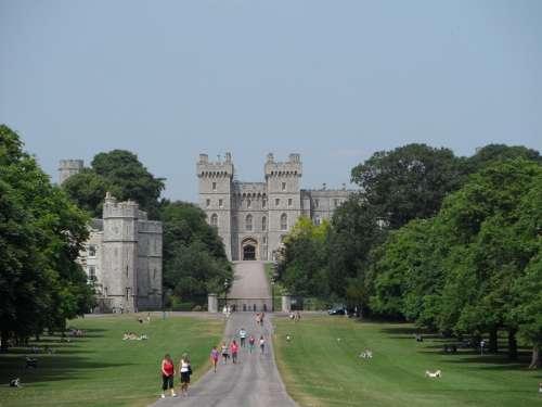 Windsor Castle Castle Architecture England Input
