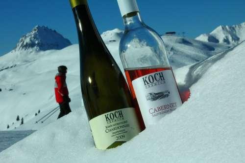Wine Rosé Ski Resort Ski Snowboard