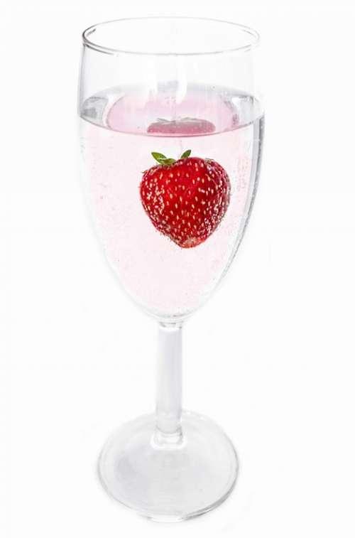 Wine Fruit Close-Up Strawberry Leisure Berry
