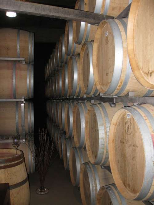 Wine Barrels Winery Storage Barrels Wine Wood