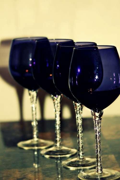 Wine Glass Red Glass