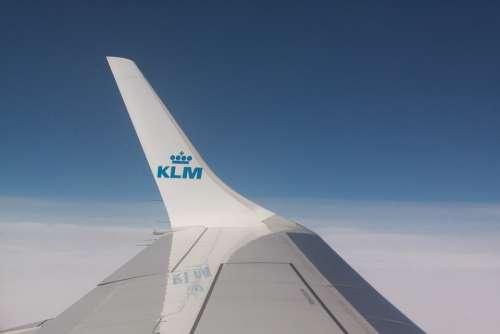 Wing Flight Klm Transport Airline Signet Travel