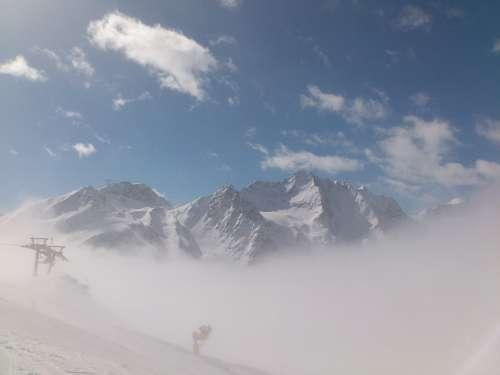 Winter Winter Sports Sölden Glacier