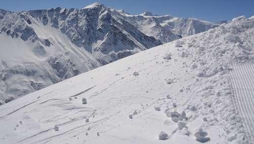 Winter Mountains Stok Snow Snowy Slope Route