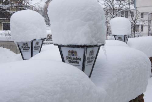 Winter Snow New Zealand Snowfall Frost