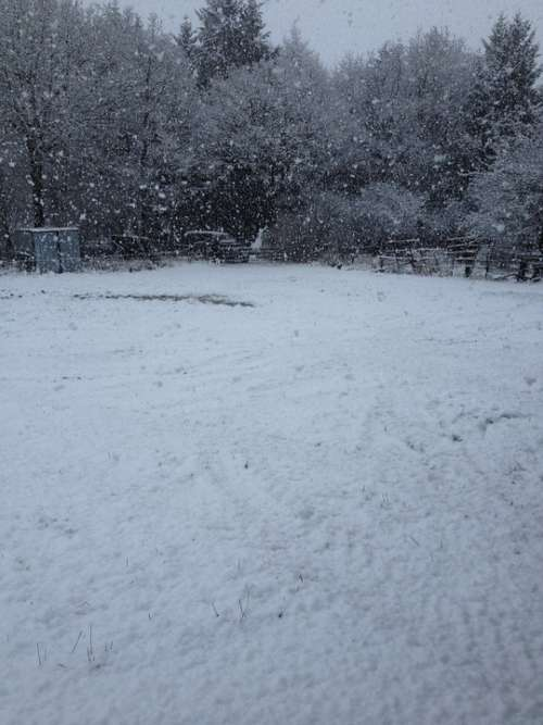 Winter Snow Storms Cold Bad Vista