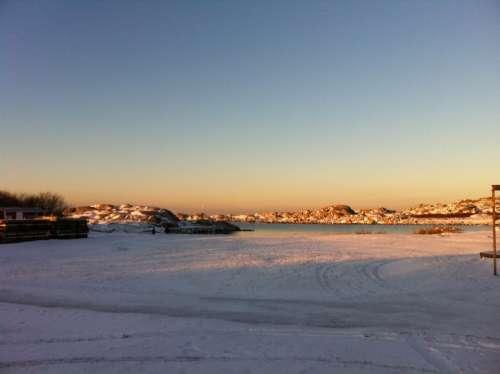Winter Winter Magic Ice Frost Sea Islands Öckerö