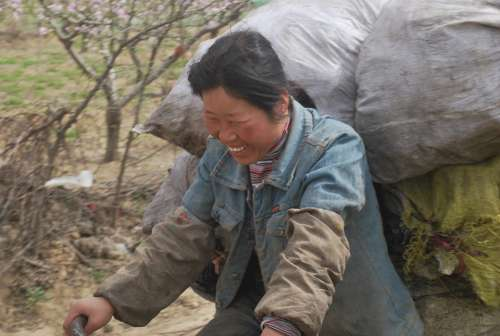 Woman Chinese Smile Worker Person Smiling Happy