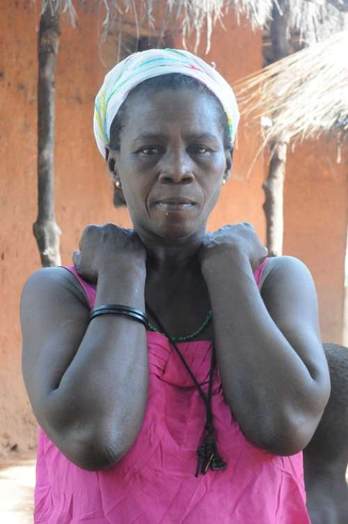 Woman Africa Ethnicity Village Tribe Guinea