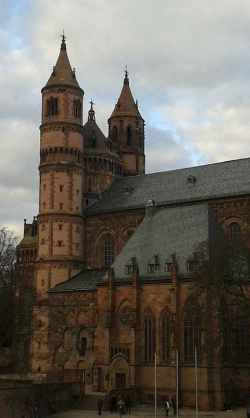 Wonnegau Worms Dom Germany Sachsen Church Tower