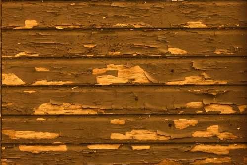 Wood Paint Peeling Flaking Old Distressed Brown